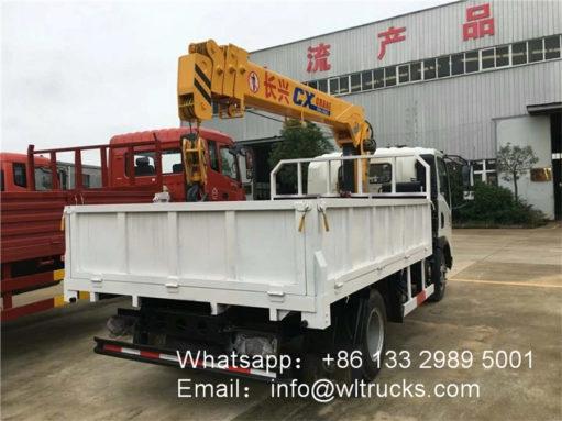 3 ton mini truck crane