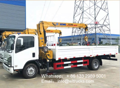 4ton truck with crane