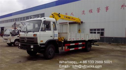 4x2 China 6ton crane truck
