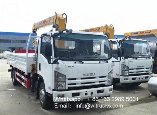 5ton truck with crane