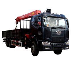 6x4 FAW 10ton to 12ton truck crane