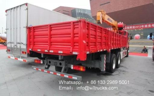6x4 FAW truck crane