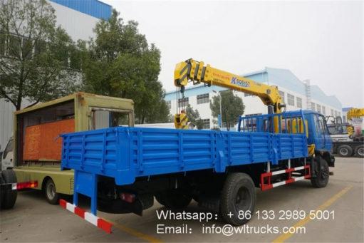 7ton crane truck