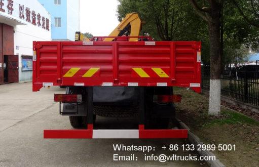 8t truck mounted crane