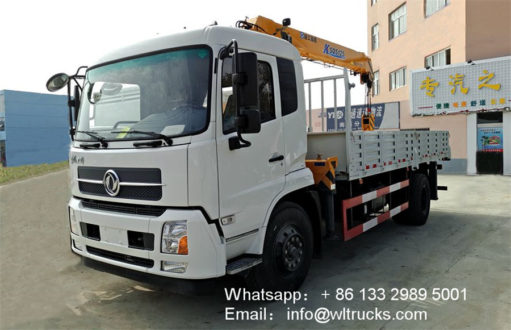 8ton truck with crane