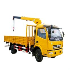 Dongfeng 4ton to 5 ton Straight arm truck mounted crane