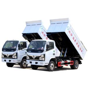 Dongfeng 5000liter dump Docking garbage truck