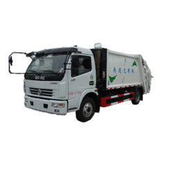 Dongfeng 8 ton compressed garbage trucks