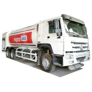Lpg gas tank truck