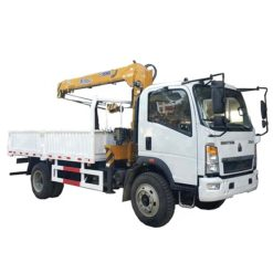HOWO 4ton-5ton cargo crane truck