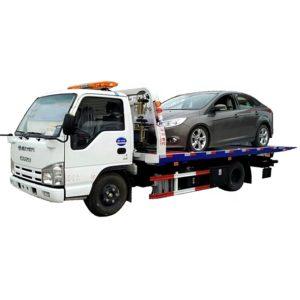ISUZU 3 ton flatbed tow truck