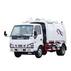 ISUZU 600P 8000 liter Food liquid waste trucks