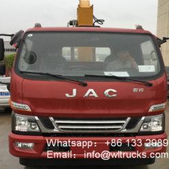 JAC 3 ton crane trucks