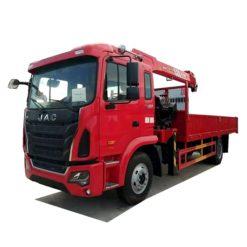 JAC 8 ton boom truck lift crane
