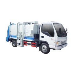 JAC 8000liter Side-mounted bucket Compactor garbage truck