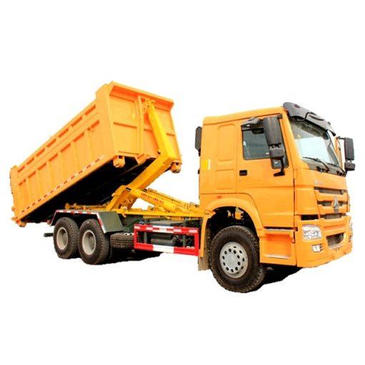 Sinotruk HOWO 18m3 to 20m3 hook arm garbage truck