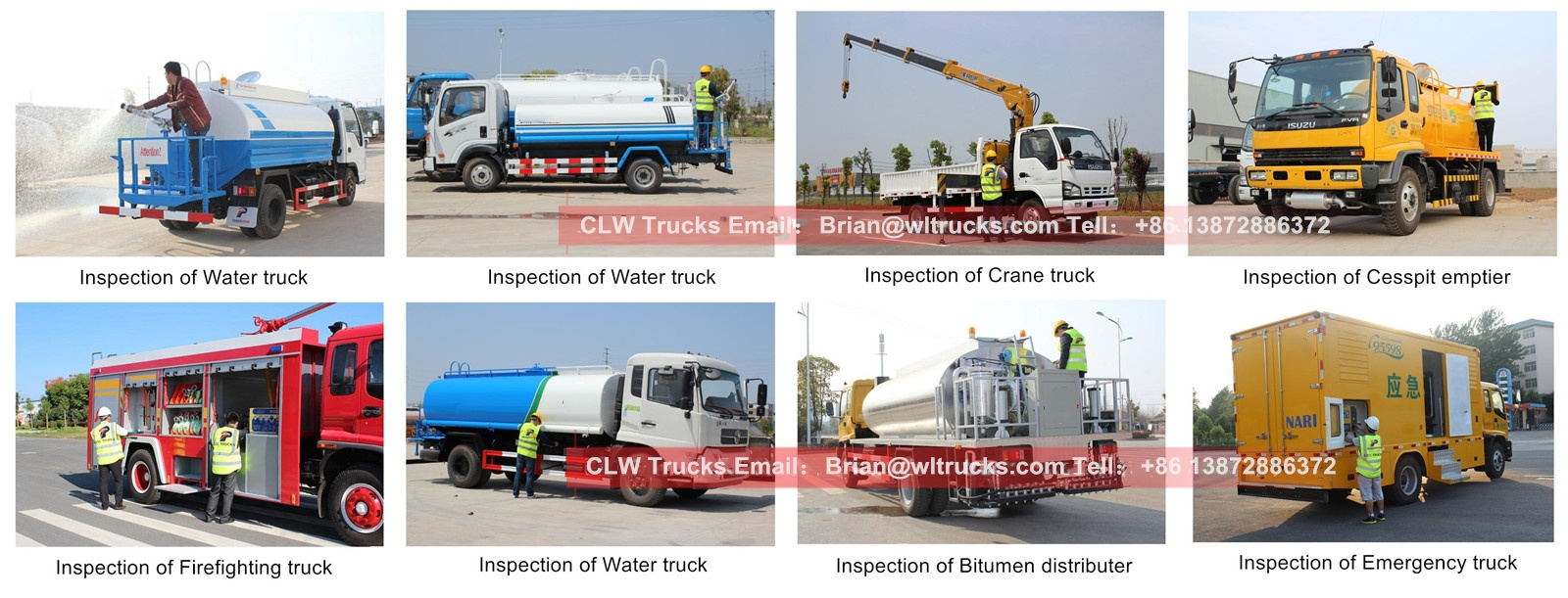 water spray truck technical training support