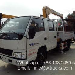JMC 2 ton truck cranes