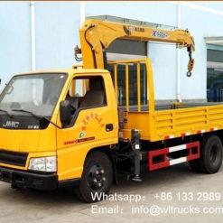 JMC 3 ton truck with crane