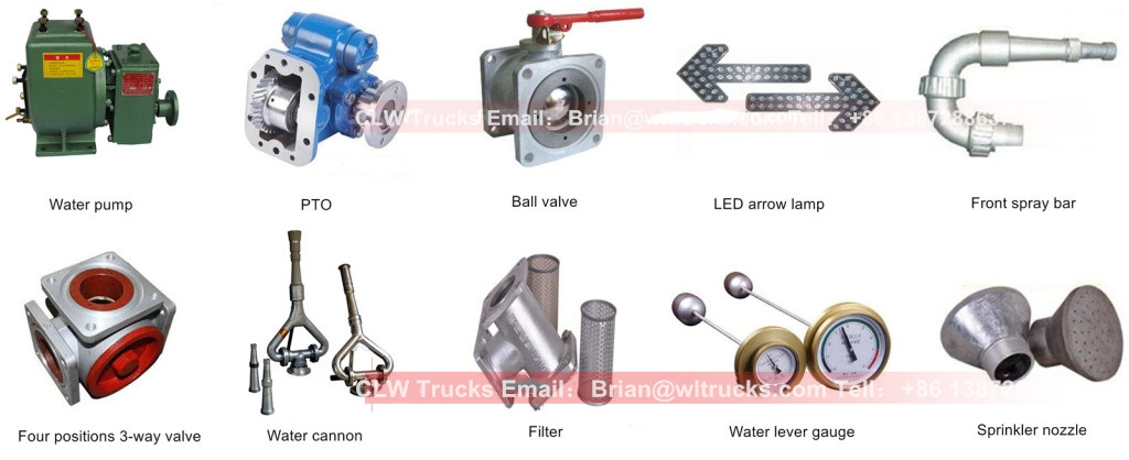 water delivery truck Free Parts