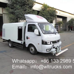 Dongfeng 1.5m3 City sidewalk cleaning truck