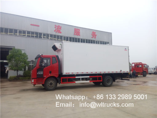 10 ton Refrigerated Truck