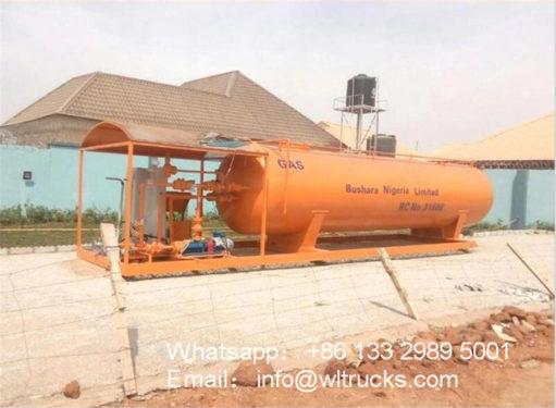 10 ton lpg gas station