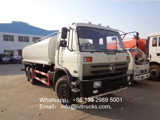 10 wheel Dongfeng 5000 gallon water trucks