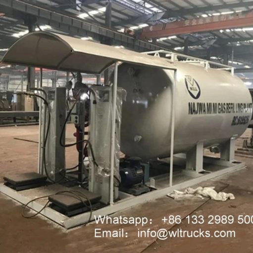10000 liter lpg skid station