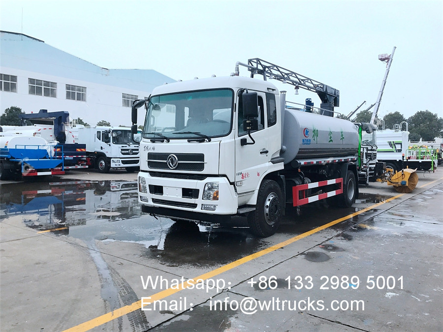10000L to 15000L Railway dust suppression truck
