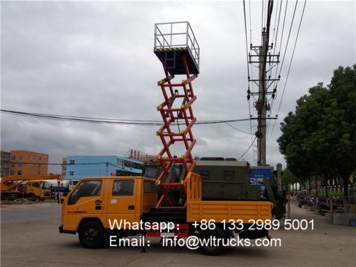 10m truck mounted aerial work platform