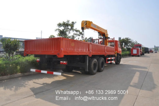 10ton mobile crane truck