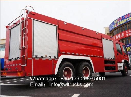 11000 liter fire truck