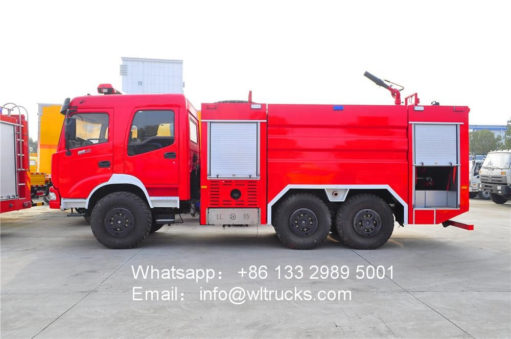12 ton water tank fire fighting truck