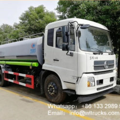 Dongfeng 10 ton to 12 ton water tank truck