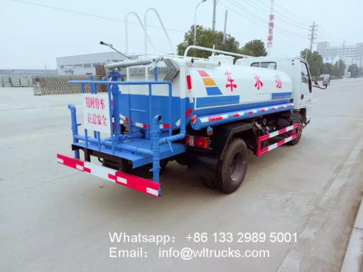 1200 gallon water spray truck