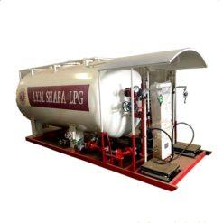 12000 liter 5 ton lpg gas station