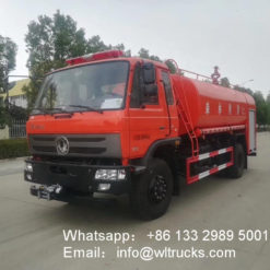 12000 liters fire water truck