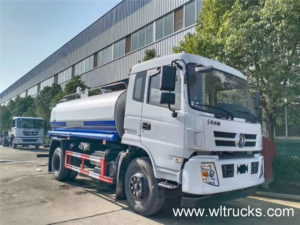 12000L water tank truck picture