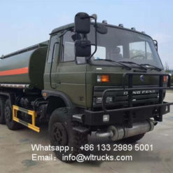 6x6 DFAC 12000l to 15000l Forest desert off-road water tank truck