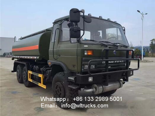 6x6 DFAC 12000l to 15000l Forest desert off-road water tank truck