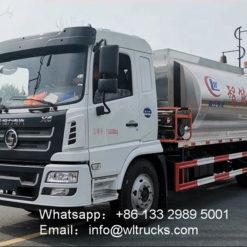 Shacman 10000liter to 12000liters asphalt tanker truck