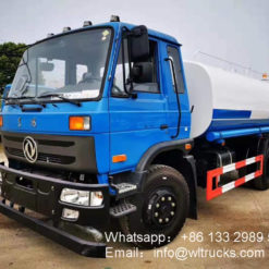 12000liters water tanker truck