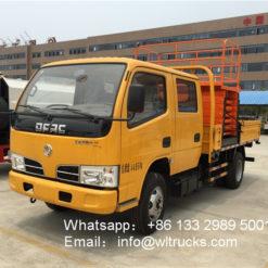 12meter hydraulic lift platform truck