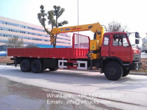 12ton mobile crane truck