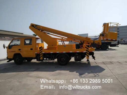 14 meter aerial platform truck