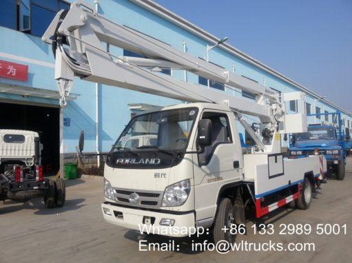 14m aerial platform truck (2)