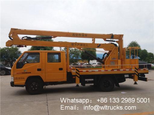 14m aerial platform truck