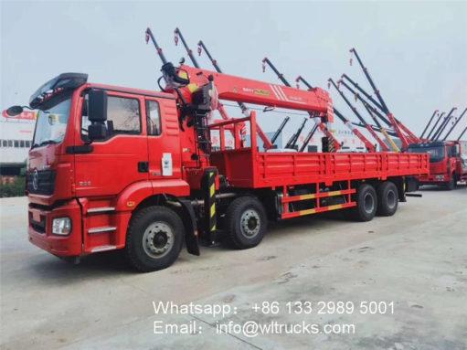 14ton crane lift truck