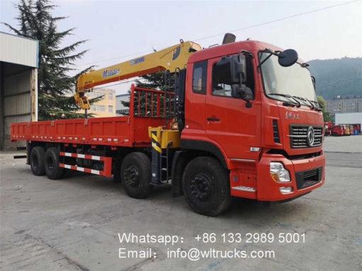 14ton crane truck